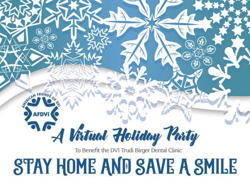 2018 AFDVI Virtual Party Invite